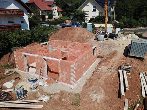 Bauprojekt in Elben 2