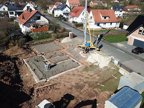 Bauprojekt in Elben
